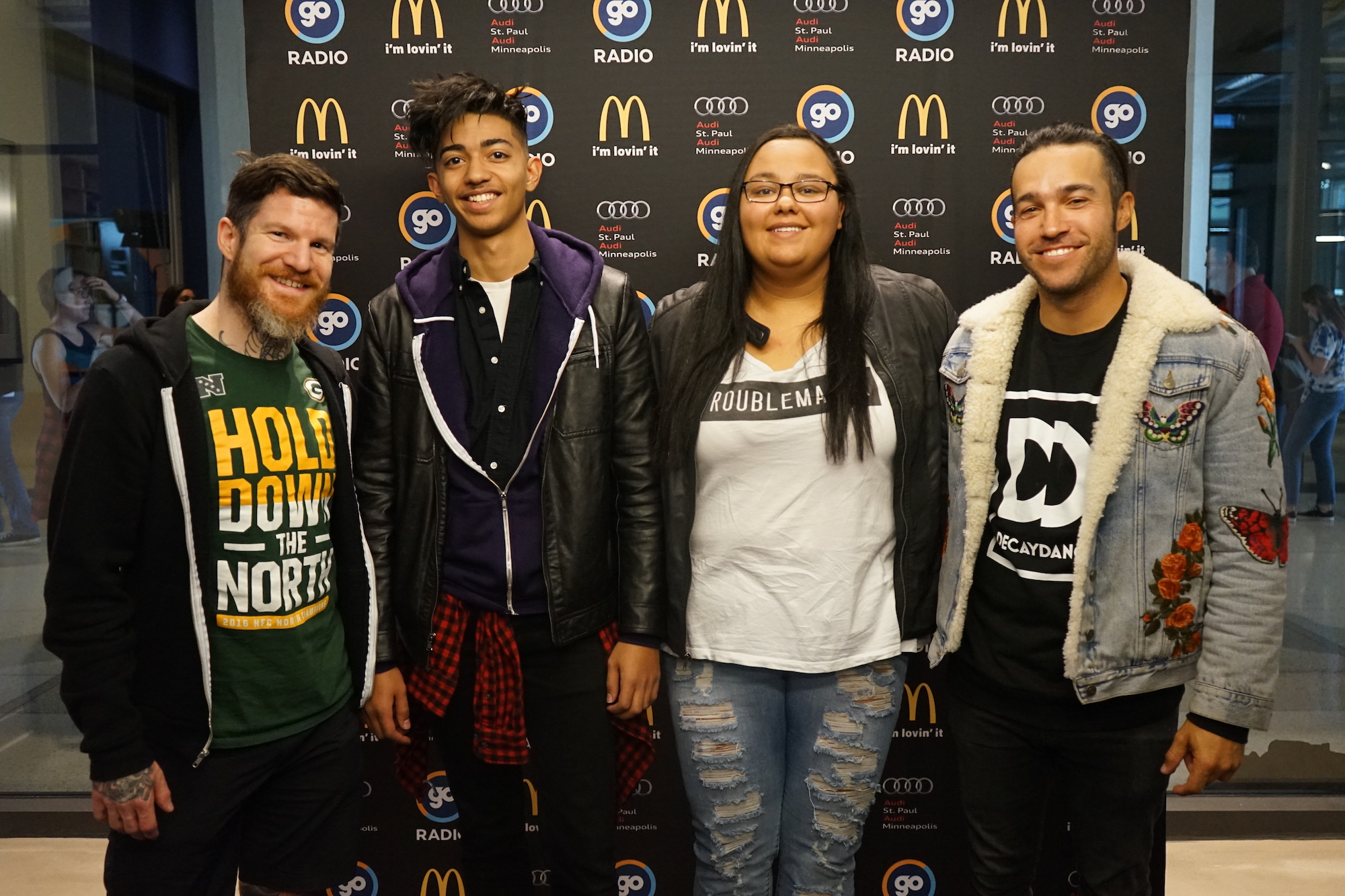Go 963 page 62 go radio photos fall out boy meet and greet at the go garage m4hsunfo
